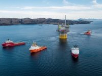 Aasta Hansteen Spar Tow-Away from Stord, Norway