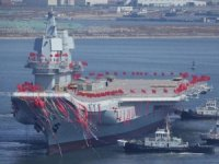 China's First Home-Built Aircraft Carrier Looks Set to Start Sea Trials