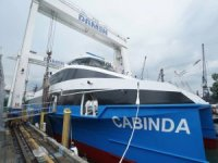 Fast Ferry Launched for Angolan Transport Ministry