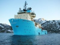Maersk Supply AHTS departs on deep sea mining study mission