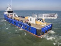First Damen FCS retrofitted with motion compensated gangway