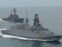 Fincantieri-built frigate ITS Alpino Makes Landfall in Norfolk