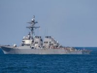 Two U.S. Warships Sail Near the Paracel Islands