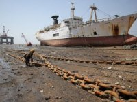 Shipbreaking on the Beaches of Alang