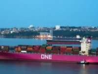 ONE's First Pink Ship Makes North American Debut