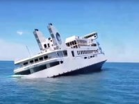 Luxury Ferry Sunk as Artificial Reef