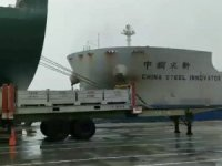 VLOC 'China Steel Innovator' Slams Into Berthed Ship in Taiwan