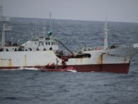 Chinese, U.S. Coast Guards Team Up for Driftnet Bust