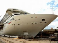 Cruise Ship Costa Venezia Floated Out