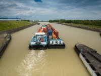Low Water Hampers Germany's Rhine, Danube Shipping