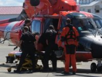 Coast Guard Recovers Man-Overboard Victim off Neah Bay