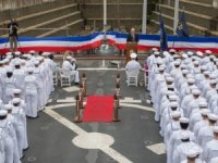 Senator McCain Joins Forefathers as USS McCain's Namesake