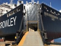 Crowley Takes Delivery of LNG-Fueled Con/Ro