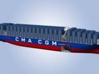 Steel Cut for World's Largest Container Vessels in Shanghai