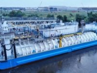 North America's First LNG Bunker Barge Delivered
