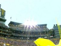 "U.S. Navy Helicopters Make Unplanned ""Visit"" to Packers Game"