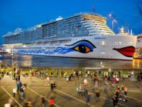 Float Out of First LNG-Fueled Cruise Ship