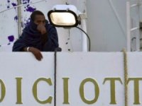 Migrants Still Detained Aboard Cutter at Port of Catania