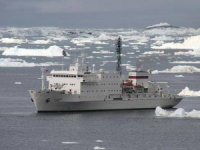 Passenger Ship Runs Aground in the Arctic