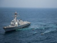 Destroyer Intercepts Weapons Shipment off Yemen
