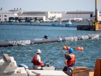 The Ocean Cleanup Launches First System