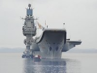 Russia's Only Aircraft Carrier Heavily Damaged By Crane