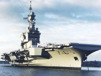Refit of French Navy's Sole Aircraft Carrier Completed