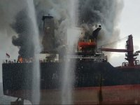 Fire Hits Bulker in Indonesia