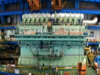WinGD Builds World's Largest Dual-Fuel Engine for Containerships