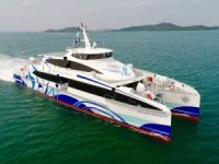 First of Three New Units for Majestic Fast Ferry Launched