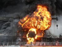 Fire on oil tankers at South Korean port injures nine
