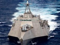 USS Gabrielle Giffords Is The 1st LCS To Get Its Full Load Of Next Gen NSM Missiles