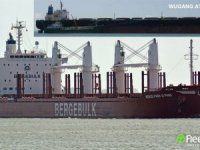 Very large ore carrier collided with bulk carrier at Itaqui, both damaged