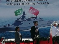 First Steel Cut For Pakistan Navy Milgem Project Ship