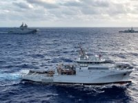 """French Navy Offshore Support And Assistance Vessel """"Garonne"""""""