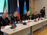 Military MoU inked between Caspian Sea littoral states' navies
