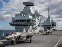 First British F-35B Land Onboard HMS Queen Elizabeth