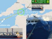 COSCO Panamax collided with French trawler in Irish waters, heavy damage