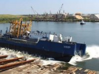 America's First LNG Articulated Tug and Barge Unit Launched