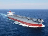 Imabari Launches K Line's Newest Capesize Bulker
