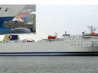 Polish ferry severely damaged in collision at Ystad, Sweden