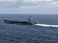 USS Gerald R. Ford Returns To Sea Following Long Maintenance Period