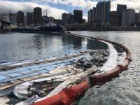 Bunker Spill in Honolulu Harbor