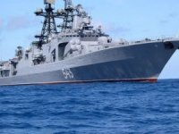 Russia's Pacific Fleet Udaloy-Class Destroyer