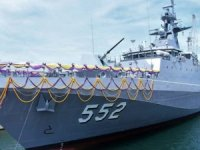 Terma C-Guard Decoy Launcher Passes SAT Aboard Thai Navy Krabi-Class OPV