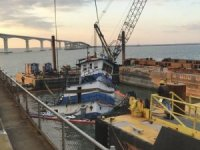 Coast Guard Oversees Salvage of Sunken Tug in North Carolina
