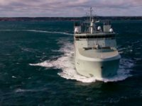 Royal Canadian Navy's First Harry DeWolf-Class Started Sea Trials