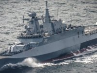 The New Polish Navy vessel ORP Slazak ready for duty