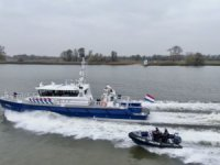 Dutch Police Patrol Vessel Christened at Damen Shipyards Gorinchem