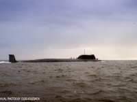 New Russian submarine Yasen-M test-fires torpedo during sea trials